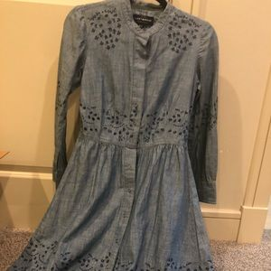 Button-Up Vintage Style Dress Lucky Brand